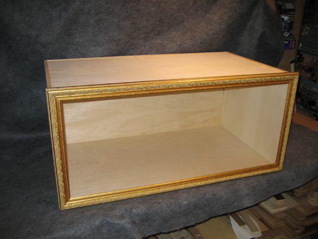 framed box